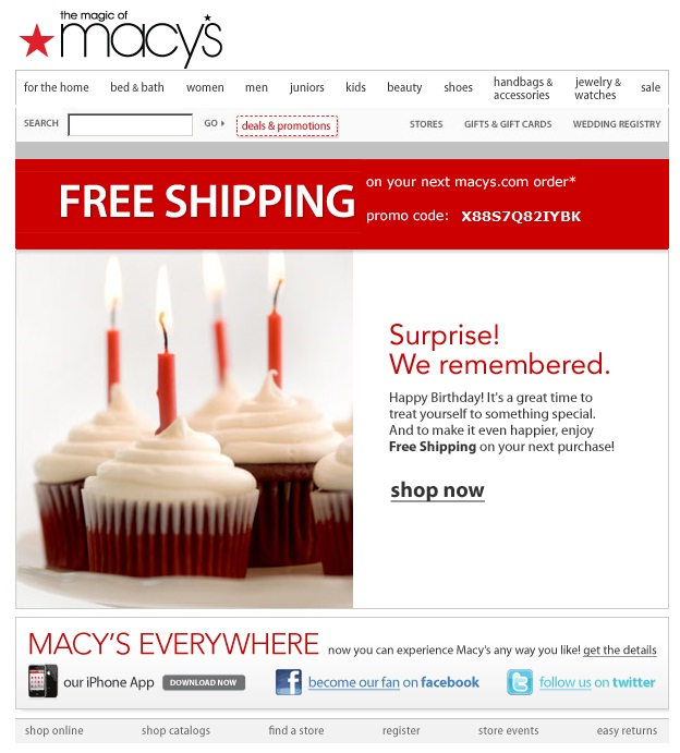 birthday macy's email
