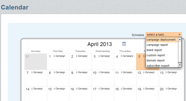 automating calendar set up