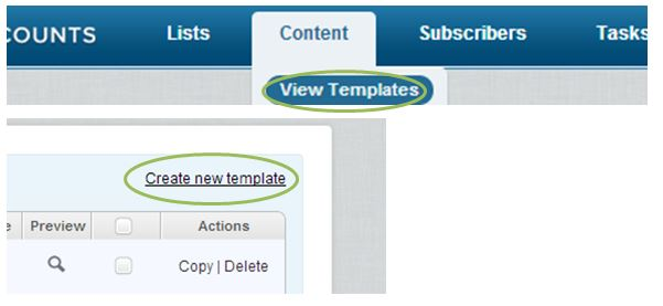 Create a mobile version by starting a new template.