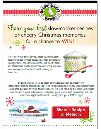 Gooseberry Patch preps for the holidays with this email campaign.