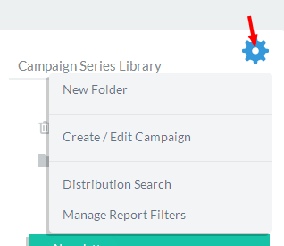 Choose the Manager Report Filters options from the dropdown.