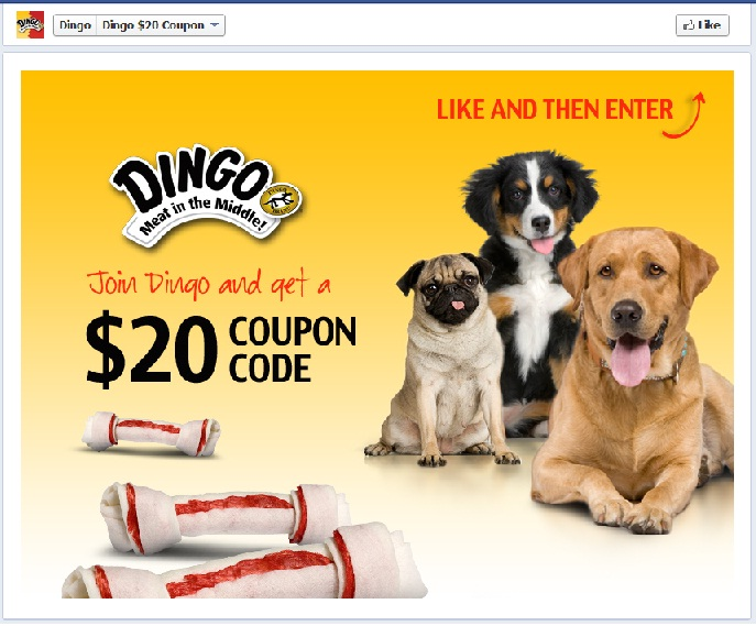 cross-promoting Dingo