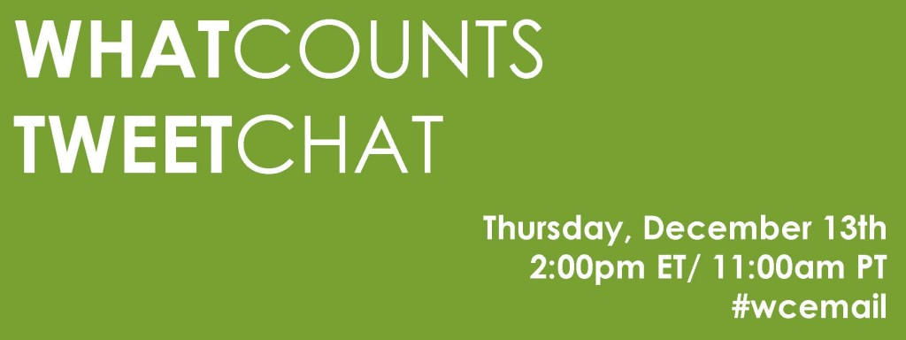 December Twitter Chat About Email