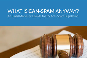 Your guide to U.S. CAN-SPAM legislation.