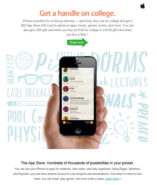 Apple, Inc.'s September email
