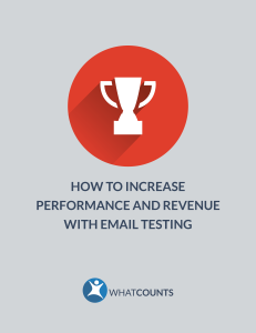 How to increase performance and revenue with email testing