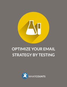 optimize your email strategy by testing