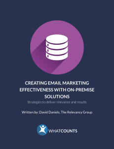 Effective email marketing appliance solutions