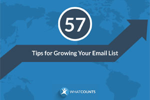 Download the free 57 Tips for Growing Your Email List eBook now!