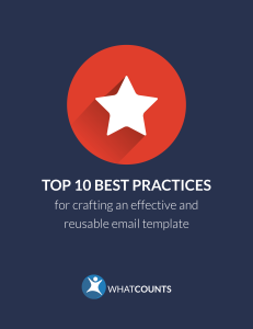 Top 10 email marketing best practices ebook whatcounts top 10 best practices for making an email template pronofoot35fo Gallery