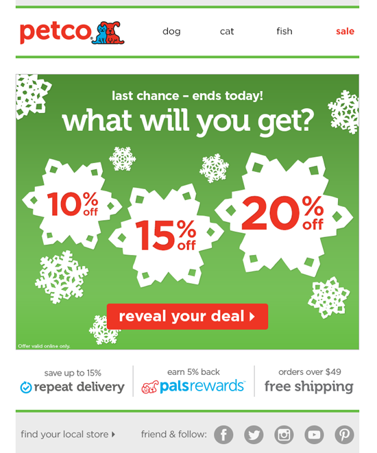 A Special Holiday Campaign For Loyal Petco Customers