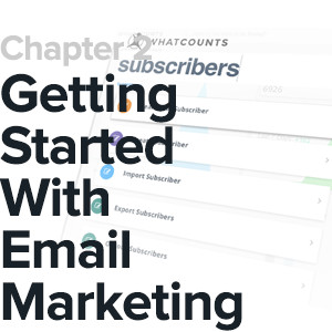 chapter 2 cover getting started with email marketing
