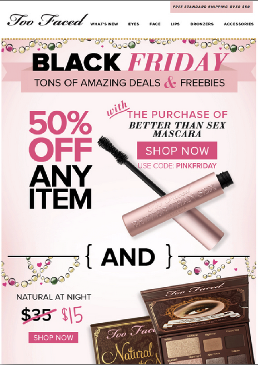 Too Faced's Black Friday Sale Includes A New Product We've Got The ExclusiveDeets