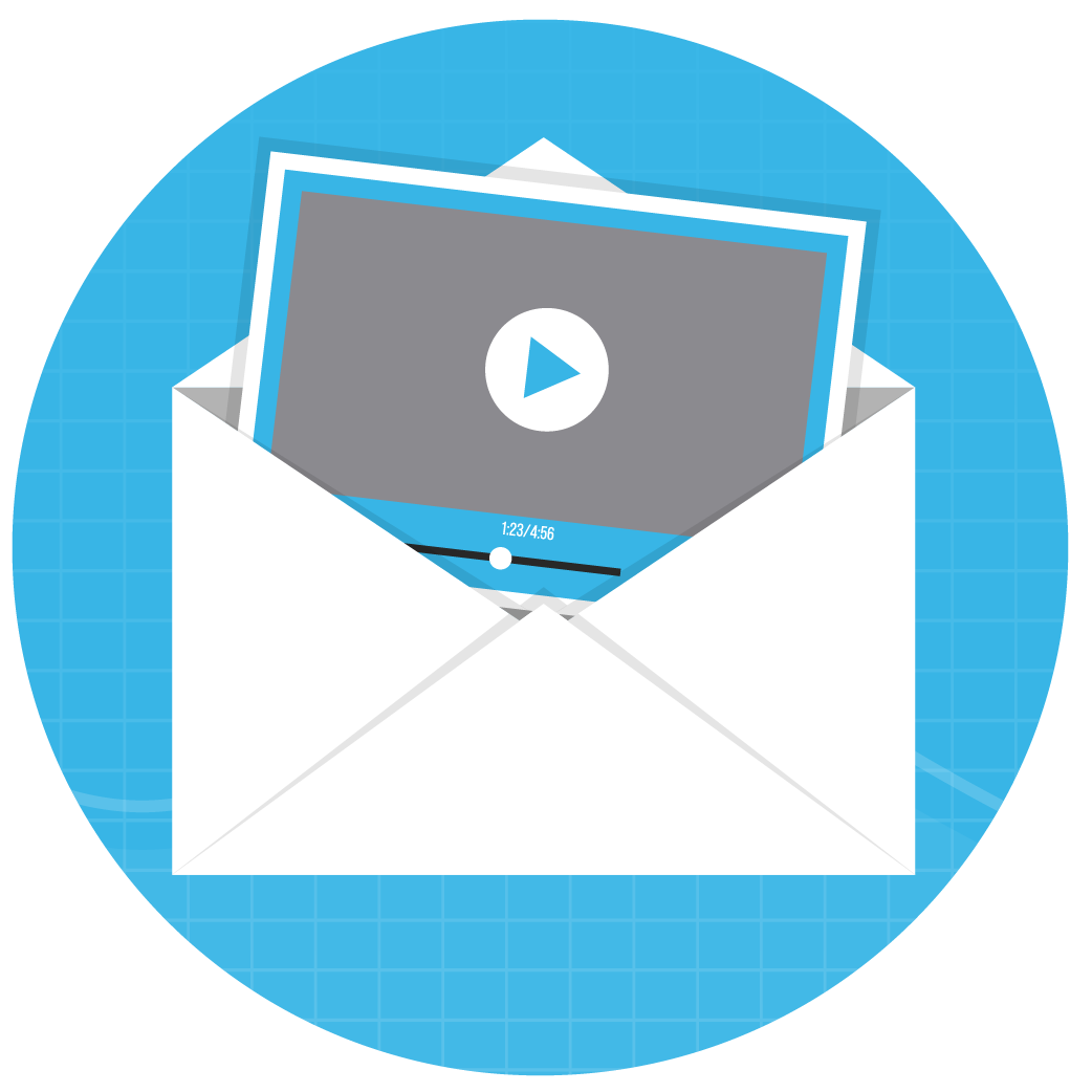webinar for video in email