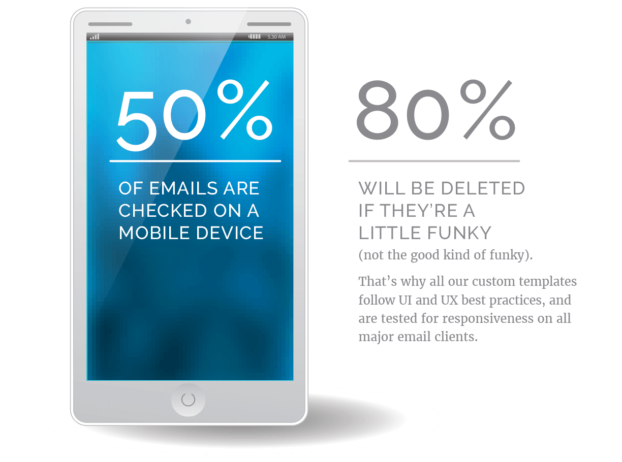 email marketing services custom projects