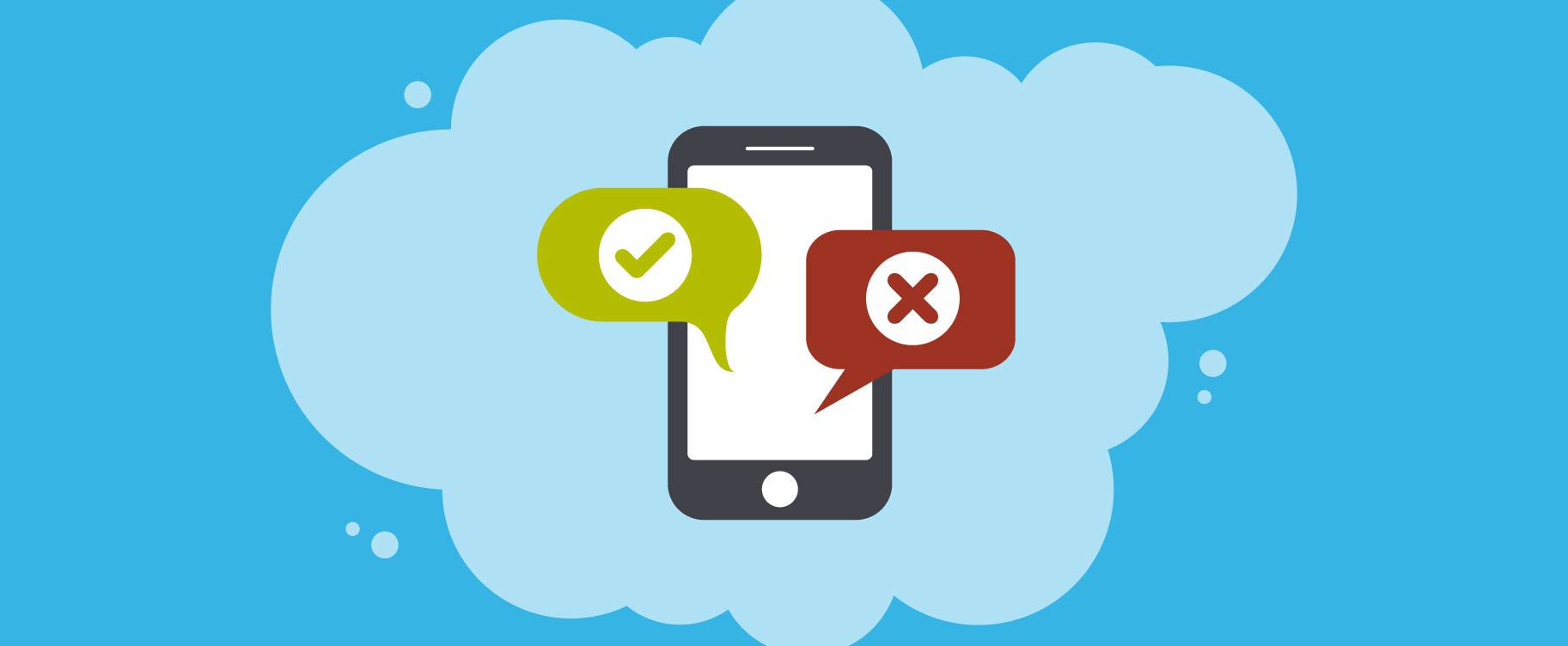 Read about the major dos and don'ts of SMS marketing campaigns.