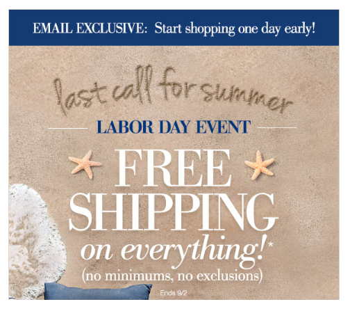 Check out these Labor Day email marketing examples.