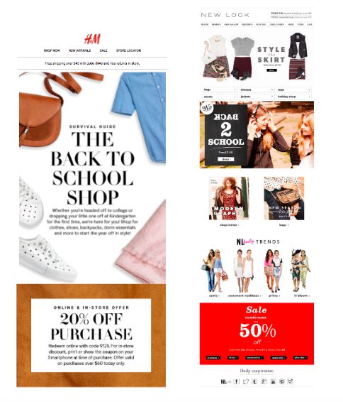 Check out these examples of back-to-school email marketing.