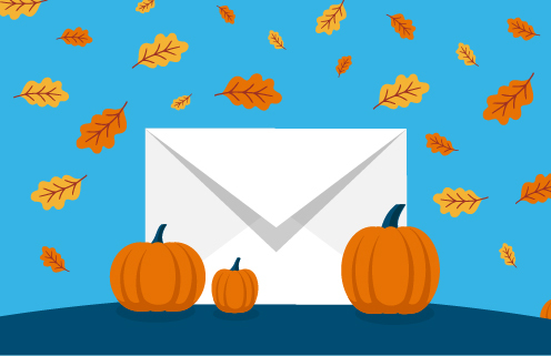 Get ideas for Fall Email Marketing Campaigns.