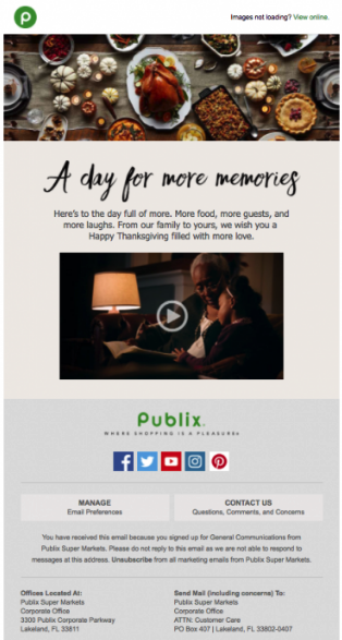 holiday email marketing strategies using video
