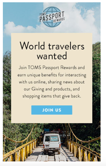Learn from Tom's loyalty and frequent purchaser program.