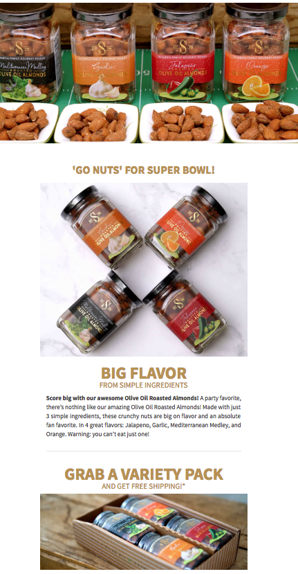 Super Bowl Promotion Example