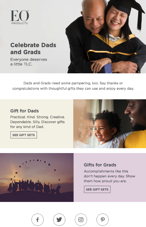Moms, Dads, and Grads - Top Promotional Ideas | WhatCounts